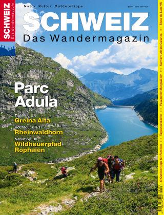 SCHWEIZ Das Wandermagazin 06/2015