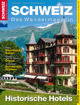 SCHWEIZ Das Wandermagazin 05/2015