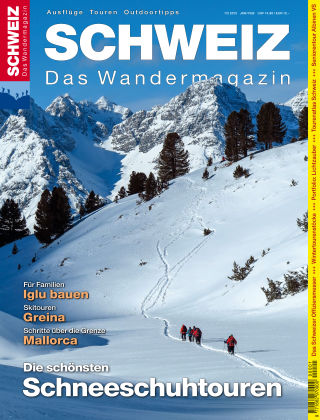 SCHWEIZ Das Wandermagazin 01_02/2015