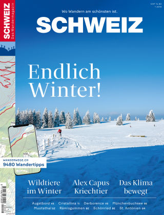 SCHWEIZ Das Wandermagazin 01/2018