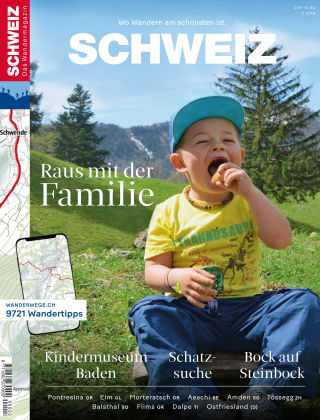 SCHWEIZ Das Wandermagazin 03/2018