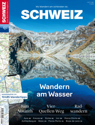 SCHWEIZ Das Wandermagazin 05/2018