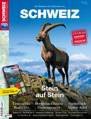 SCHWEIZ Das Wandermagazin 06/2018