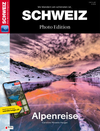 SCHWEIZ Das Wandermagazin 08/2018