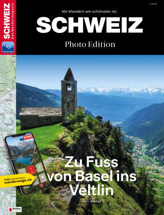 SCHWEIZ Das Wandermagazin 02/2019
