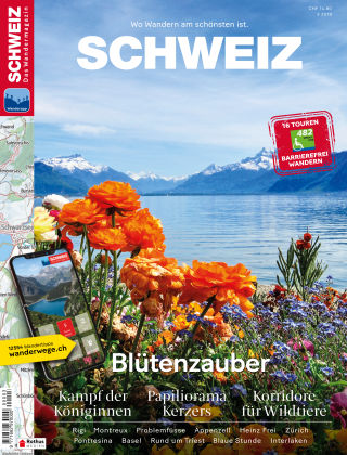 SCHWEIZ Das Wandermagazin 03/2019