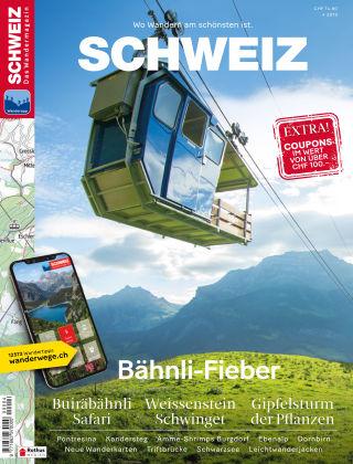 SCHWEIZ Das Wandermagazin 04/2019