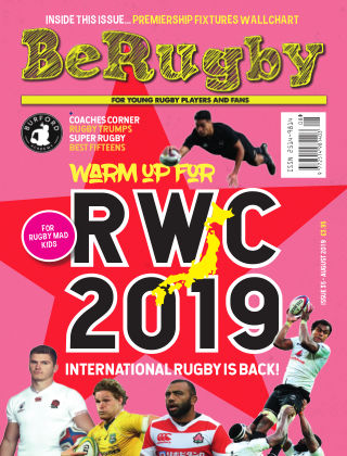Be Rugby August 2019