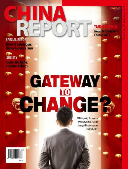 China Report December 01, 2013 00:00