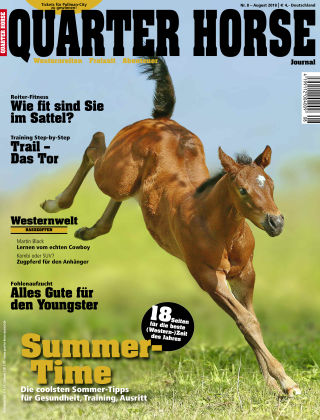 Quarter Horse Journal 08/2018