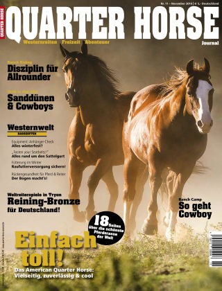 Quarter Horse Journal 11/2018