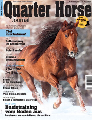Quarter Horse Journal 1/2021