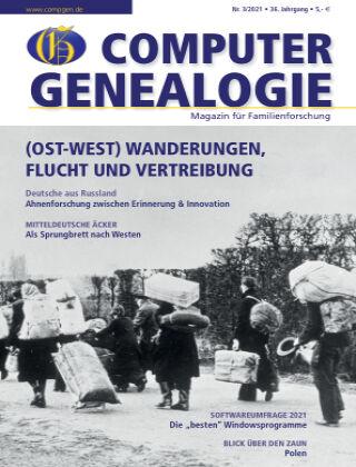 Computergenealogie / Familienforschung 03/2021