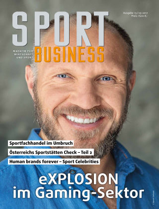 SPORT BUSINESS MAGAZIN Ausgabe 03-2017
