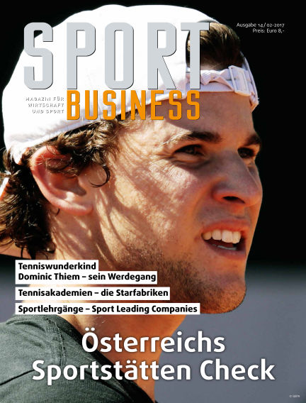 SPORT BUSINESS MAGAZIN June 01, 2017 00:00