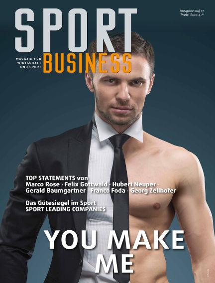 SPORT BUSINESS MAGAZIN December 14, 2017 00:00