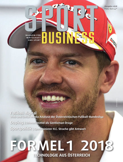 SPORT BUSINESS MAGAZIN March 23, 2018 00:00