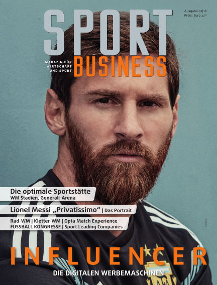 SPORT BUSINESS MAGAZIN June 27, 2018 00:00
