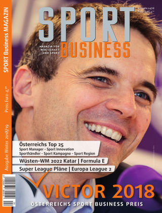 SPORT BUSINESS MAGAZIN Ausgabe 04-2018/19