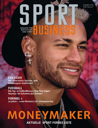SPORT BUSINESS MAGAZIN Ausgabe 01-2019