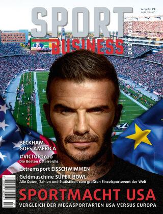 SPORT BUSINESS MAGAZIN Ausgabe 04-202020