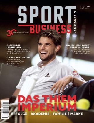 SPORT BUSINESS MAGAZIN Ausgabe 01-2021
