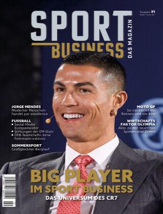 SPORT BUSINESS MAGAZIN 31 | Ausgabe 02-2021