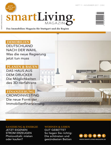 smartLiving-Magazin November 13, 2017 00:00
