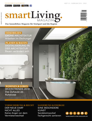 smartLiving-Magazin 01/2018