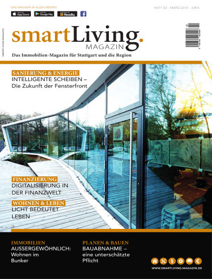 smartLiving-Magazin March 10, 2018 00:00
