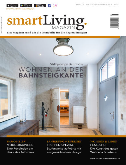 smartLiving-Magazin July 24, 2018 00:00