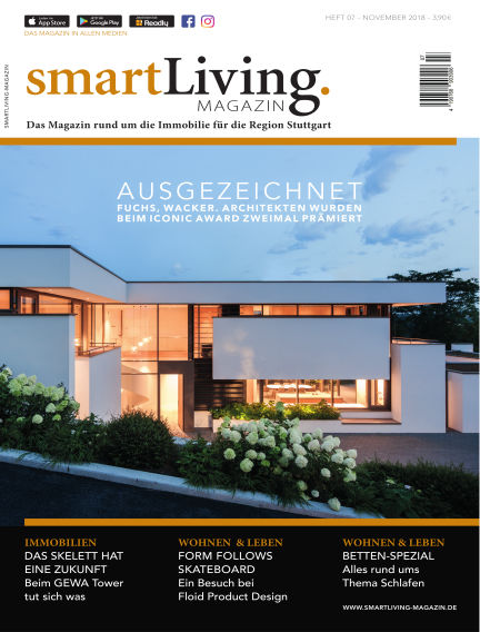 smartLiving-Magazin November 04, 2018 00:00