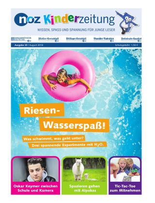 noz Kinderzeitung 8 - 2018