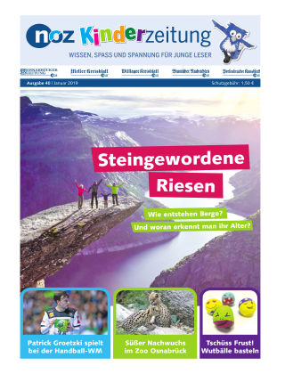 noz Kinderzeitung 1 - 2019