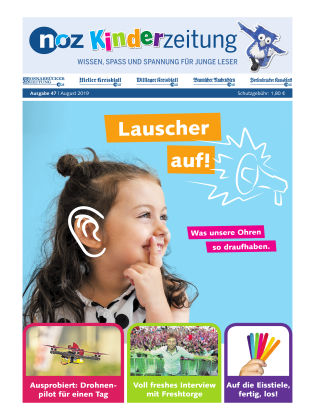 noz Kinderzeitung 8 - 2019
