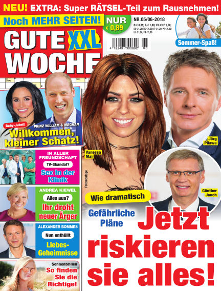 Gute Woche May 05, 2018 00:00