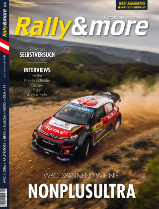 Rally&more Heft 10/2018