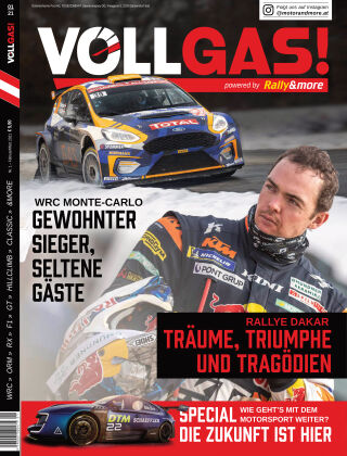 VOLLGAS! powered by Rally&more 01/2021