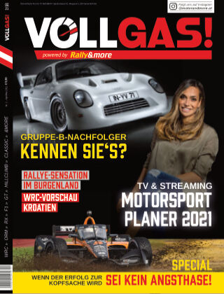 VOLLGAS! powered by Rally&more April-Mai 2021