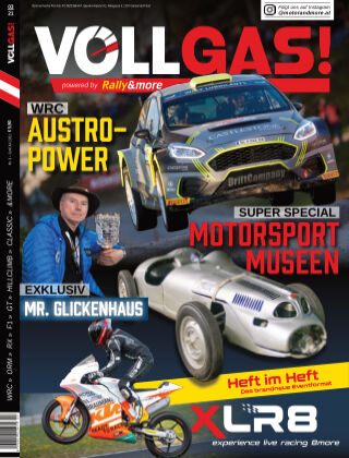 VOLLGAS! powered by Rally&more Juni-Juli 2021