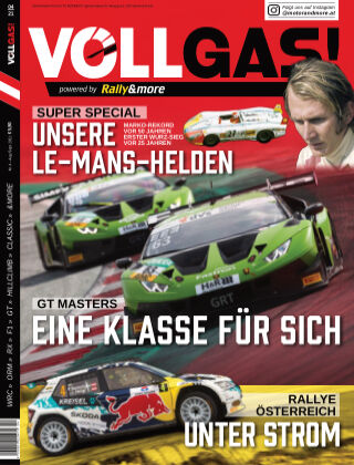 VOLLGAS! powered by Rally&more August-Sept 2021