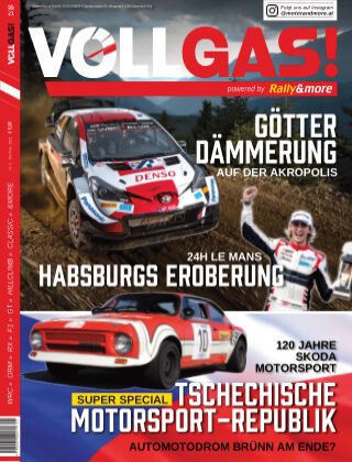 VOLLGAS! powered by Rally&more Oktober-Nov 2021