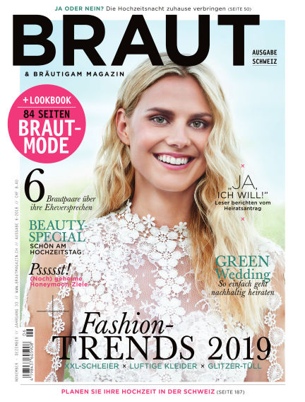 Braut & Bräutigam (CH) November 24, 2018 00:00