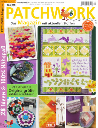 Patchwork Magazin 02/2018