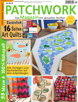 Patchwork Magazin 03/2018
