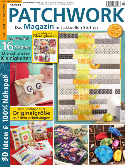 Patchwork Magazin January 12, 2019 00:00