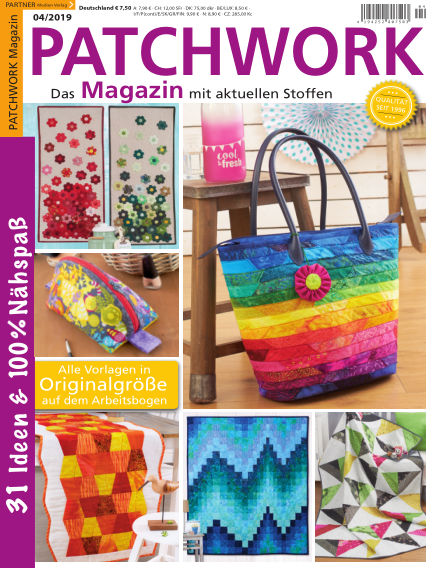 Patchwork Magazin May 04, 2019 00:00
