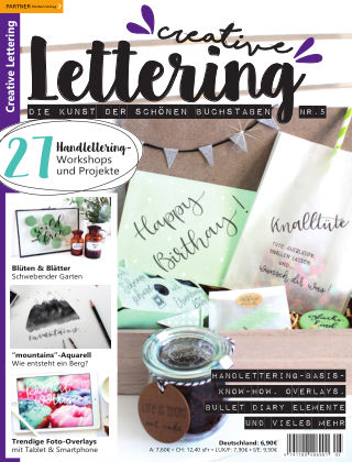 Creative Lettering Nr. 5