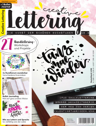 Creative Lettering Nr. 8