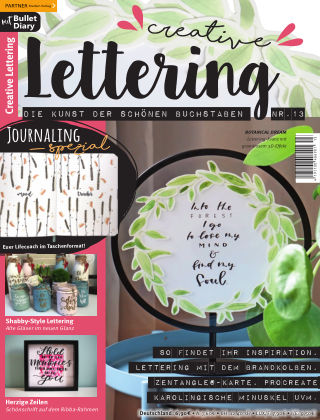 Creative Lettering Nr. 13